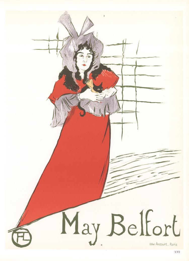 Henri de Toulouse-Lautrec - May Belfort - 1966