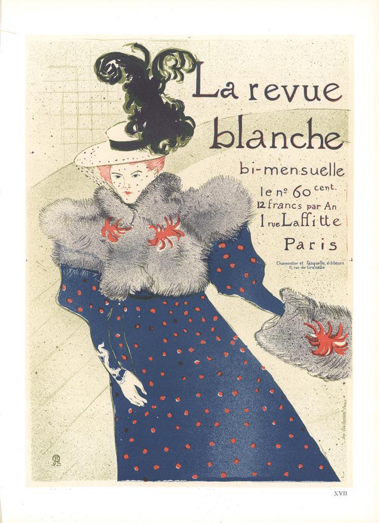Henri de Toulouse-Lautrec - La Revue Blanche - 1966