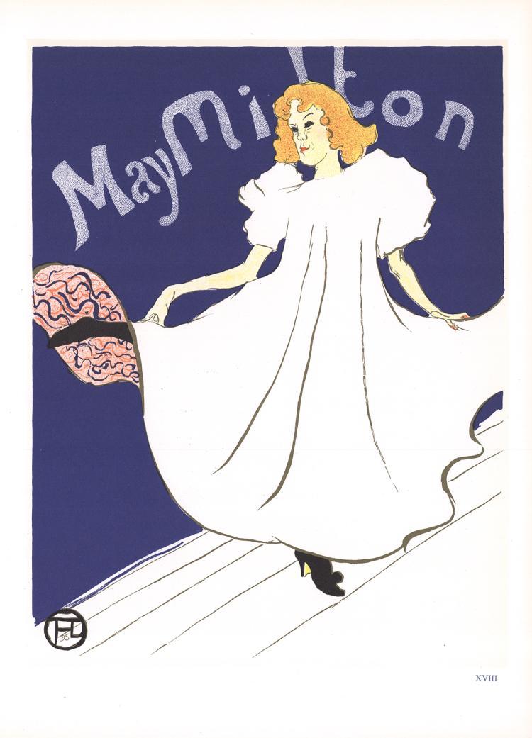 Henri de Toulouse-Lautrec - May Milton - 1966