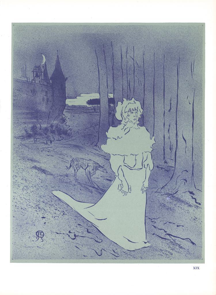Henri de Toulouse-Lautrec - La Chatelaine - 1966