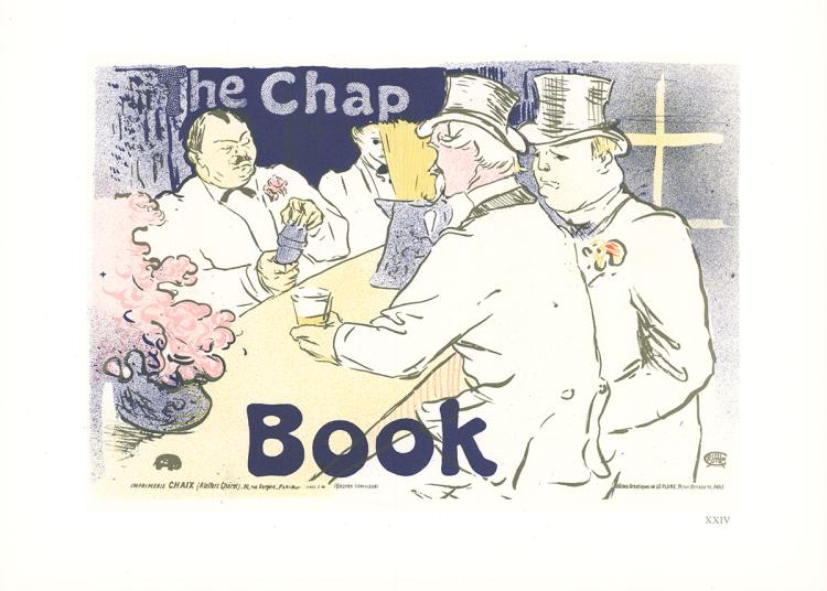 Henri de Toulouse-Lautrec - The Chap Book - 1966