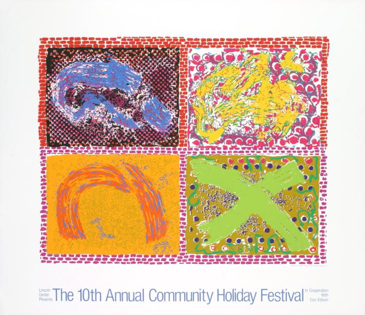 Nancy Graves - Community Holiday Festival - 1980