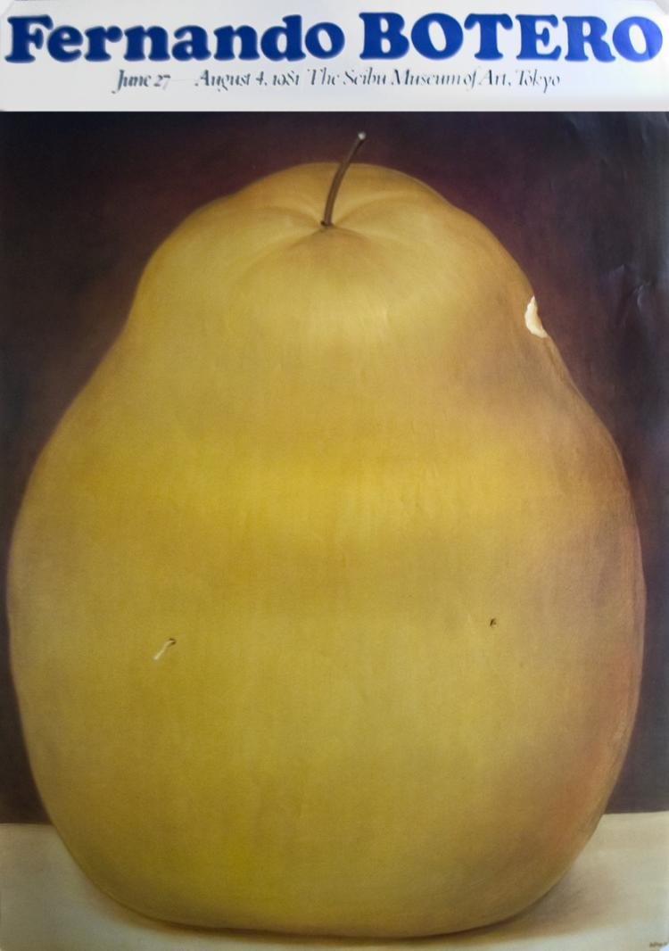 Fernando Botero - La Manzana - 1976
