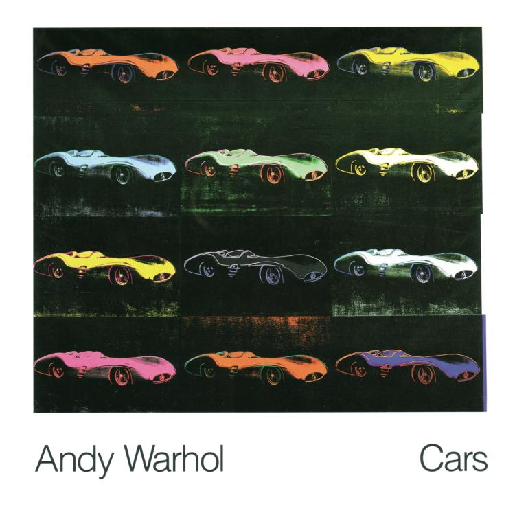 Andy Warhol - Formula 1 Car W 196 R (1954) - 1989