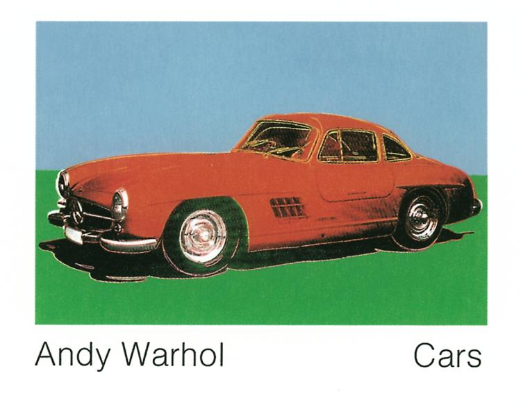 Andy Warhol - 300 Sl Coupe (1954) (Lg) - 1989
