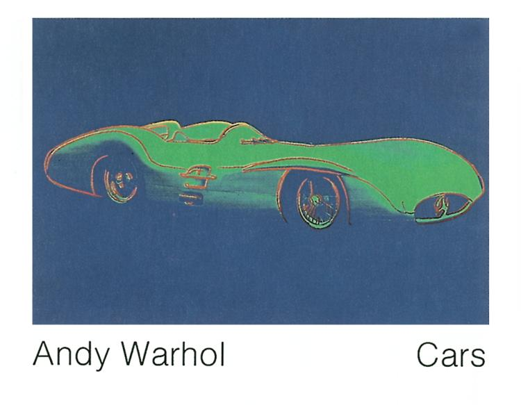 Andy Warhol - Formula 1 Car W196 R (1954) - 1989