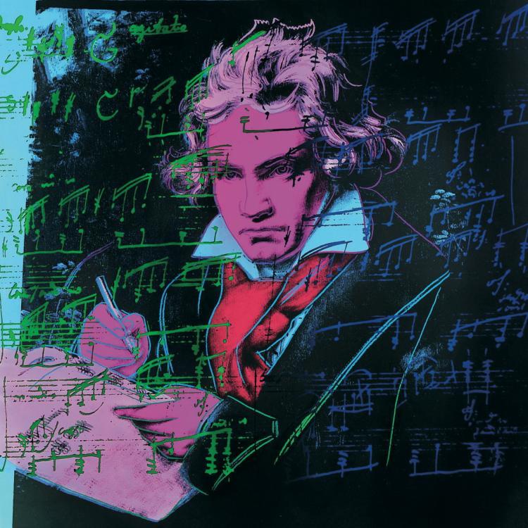 Andy Warhol - Beethoven Pink Book (Lg.) - 1990