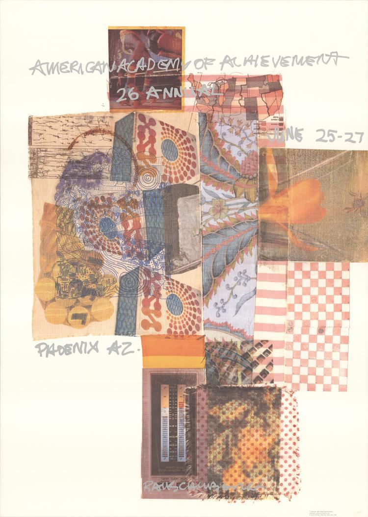 Robert Rauschenberg - American Academy of Achievement, Phoenix, AZ - 1987