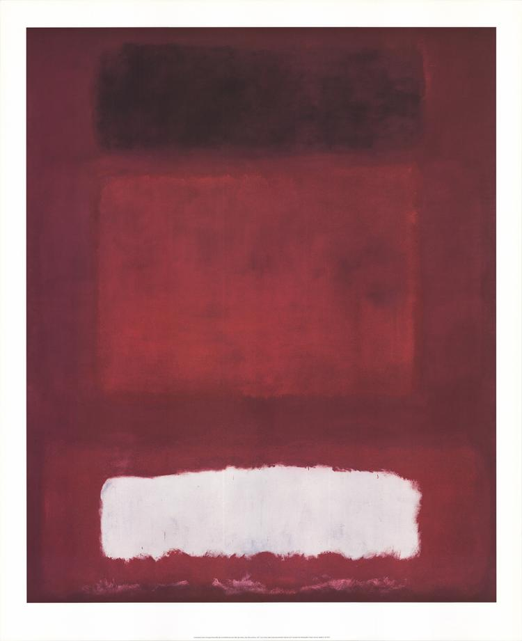 Mark Rothko - Red, White and Brown