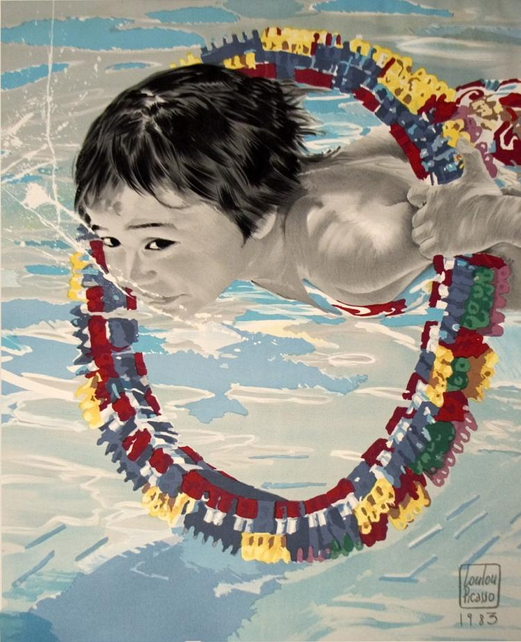Loulou Picasso - Boy Swimming