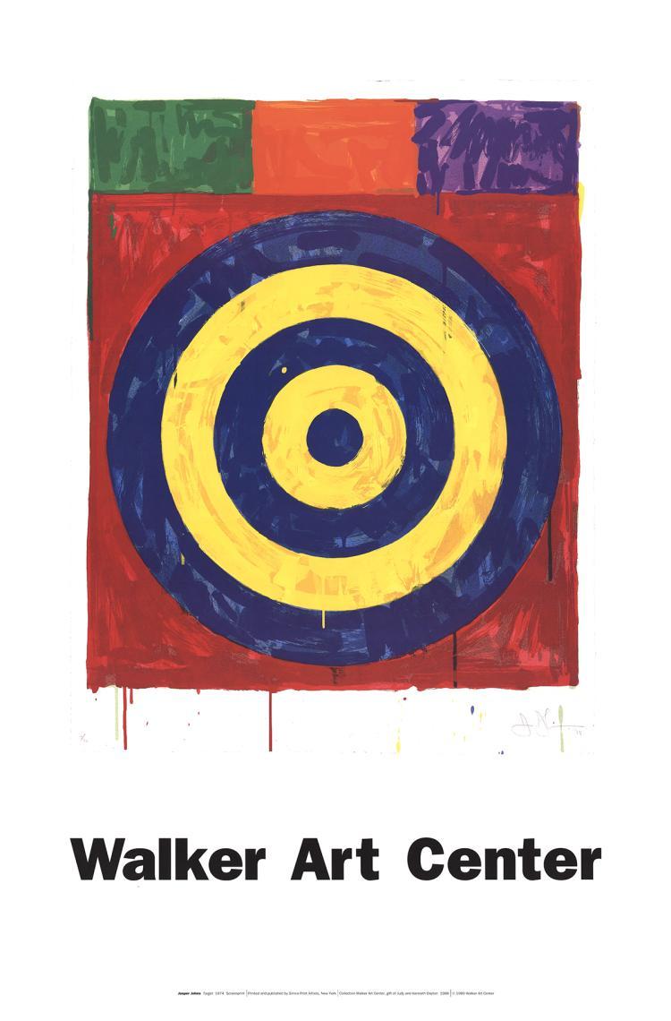 Jasper Johns - Target - 1989