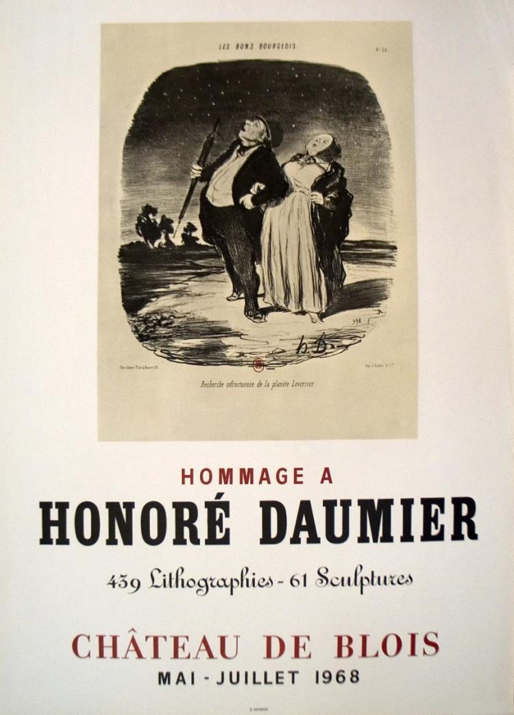 Honore Daumier - Chateau De Blois - 1968