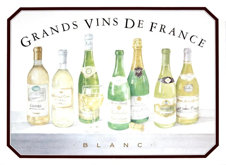 Sharon Finimark - Grands Vins De France (Blanc)