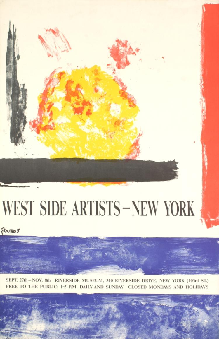 Theodoros Stamos - West Side Artists-New York