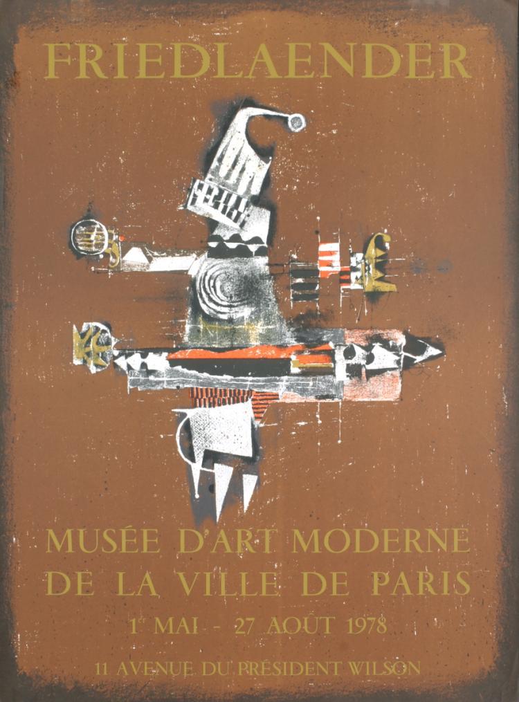 Johnny Friedlaender - Musee D?art Moderne - 1985