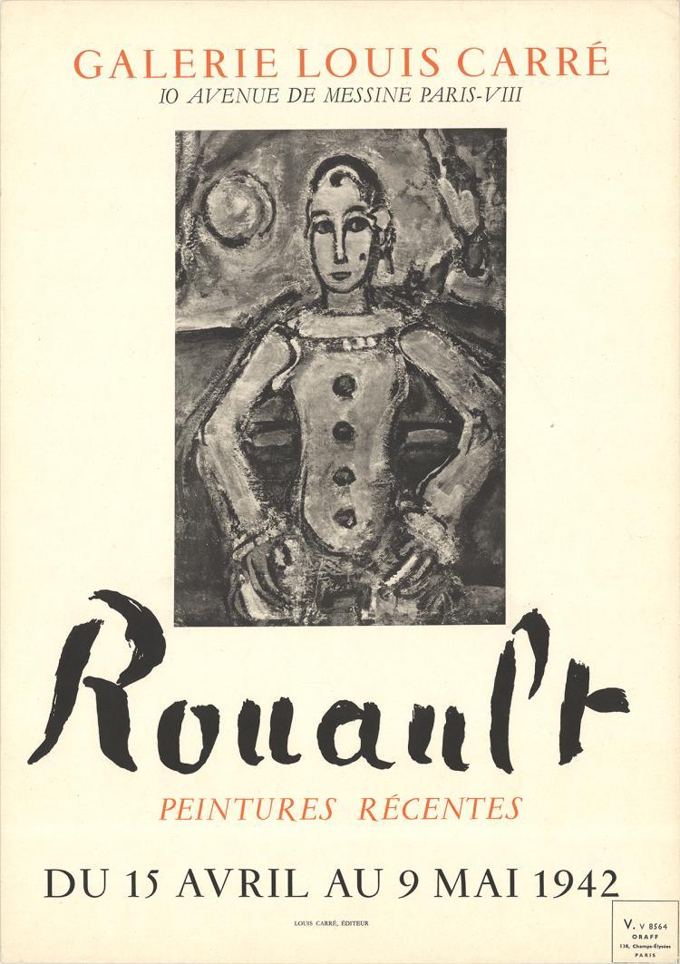 Georges Rouault - Galerie Louis Carre - 1942