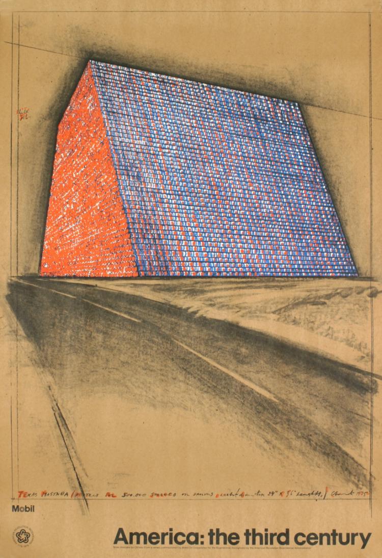 Javacheff Christo - America on Paper - 1974