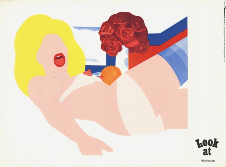 Tom Wesselmann - Galerie Thomas Munchen - 1968