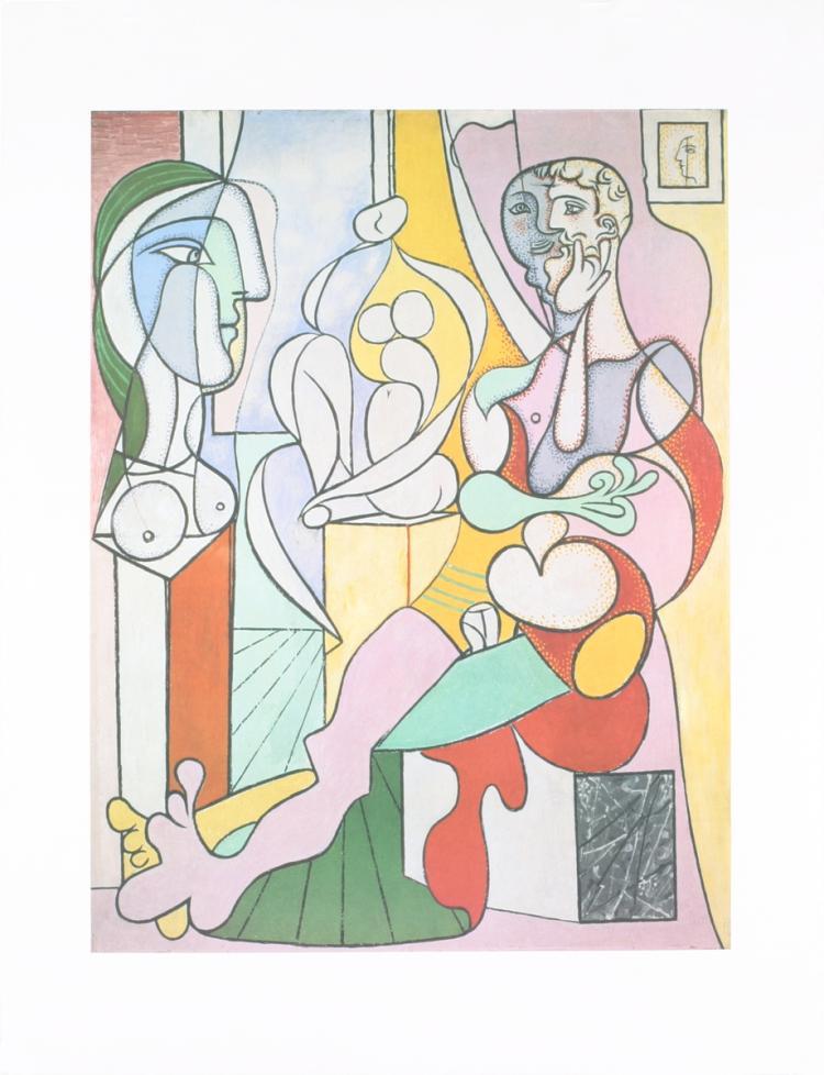 Pablo Picasso - Le Sculpteur - 1995