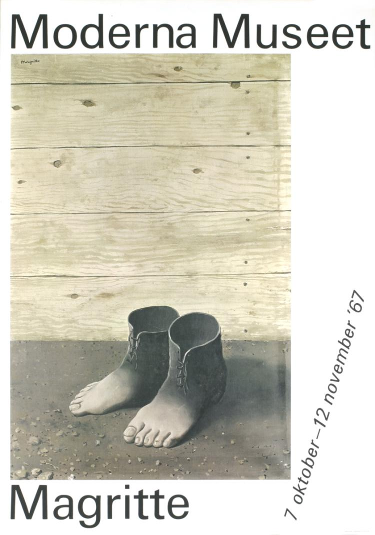 Rene Magritte - Moderna Museet - 1967