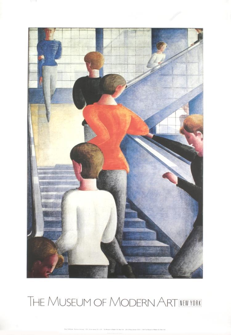 Oskar Schlemmer - Bauhaus Stairway
