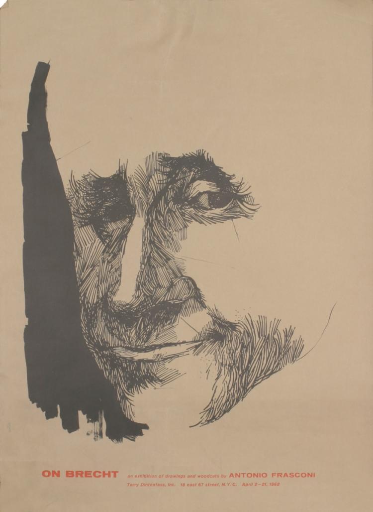 Antonio Frasconi - On Brecht - 1962