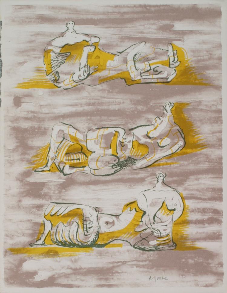 Henry Moore - XXieme Siecle