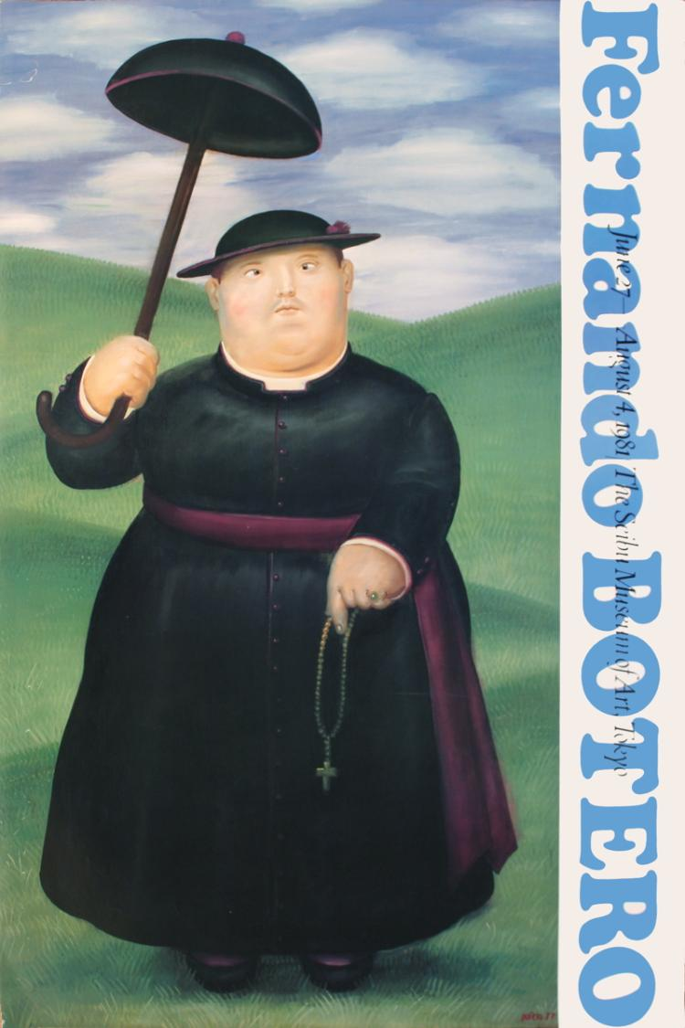 Fernando Botero - Walk Through The Hills - 1981