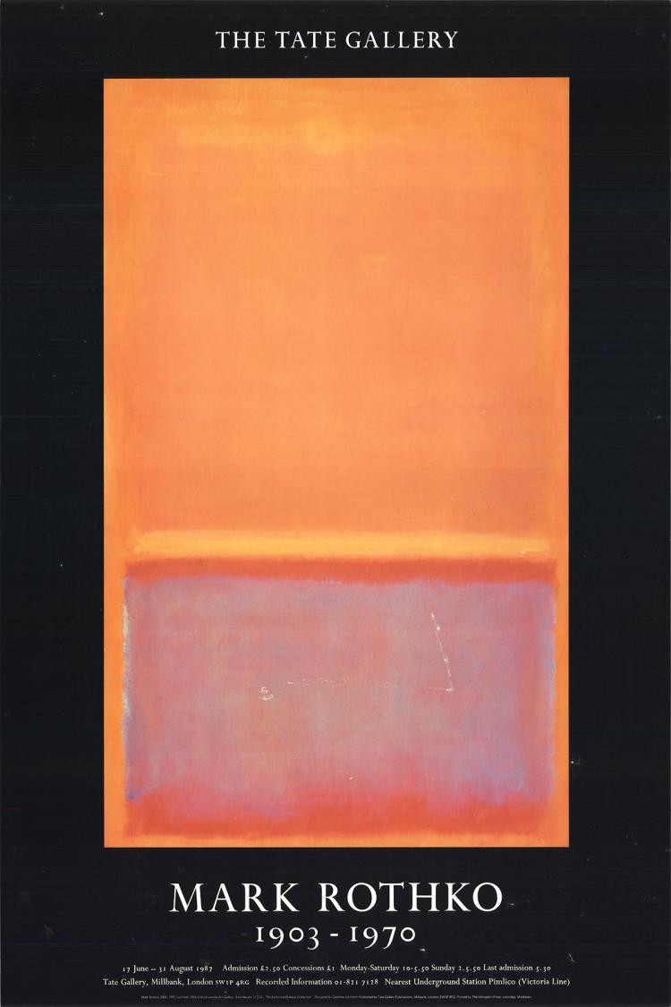 Mark Rothko - Untitled (1954) - 1987