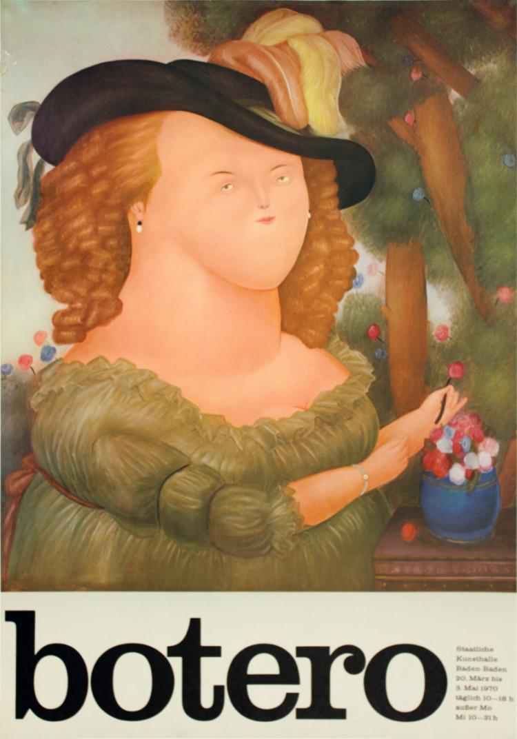 Fernando Botero - Marie Antoinette After Vigne Lebrun - 1970