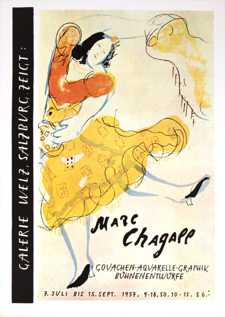 Marc Chagall - Galerie Welz (Restrike)