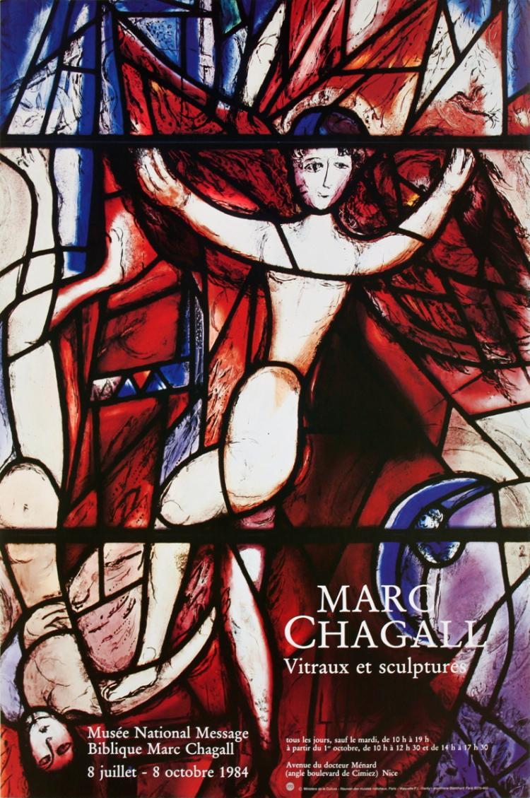 Marc Chagall - Vitraux et Sculptures - 1984