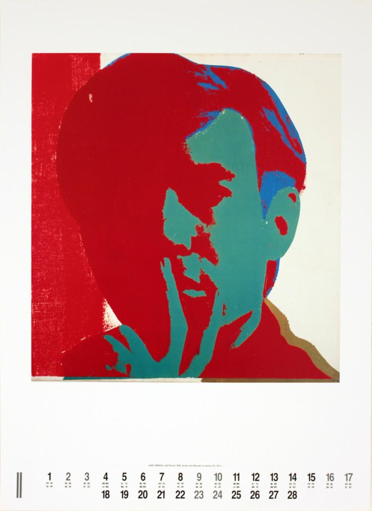 Andy Warhol - Self-Portrait - 1991