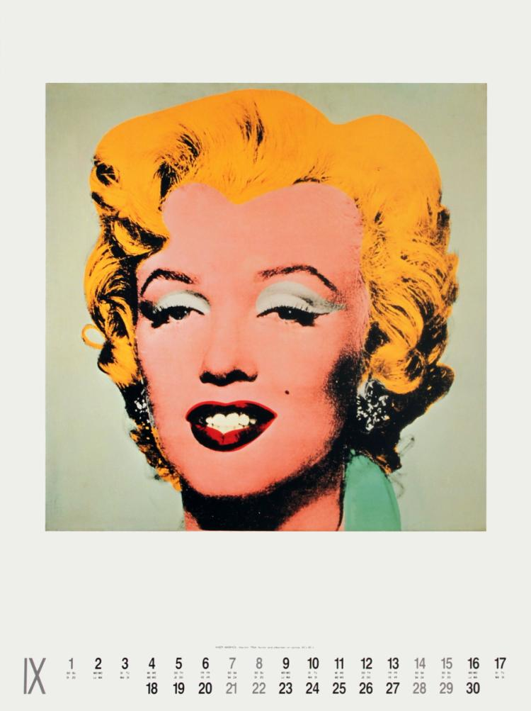 Andy Warhol - Marilyn - 1991