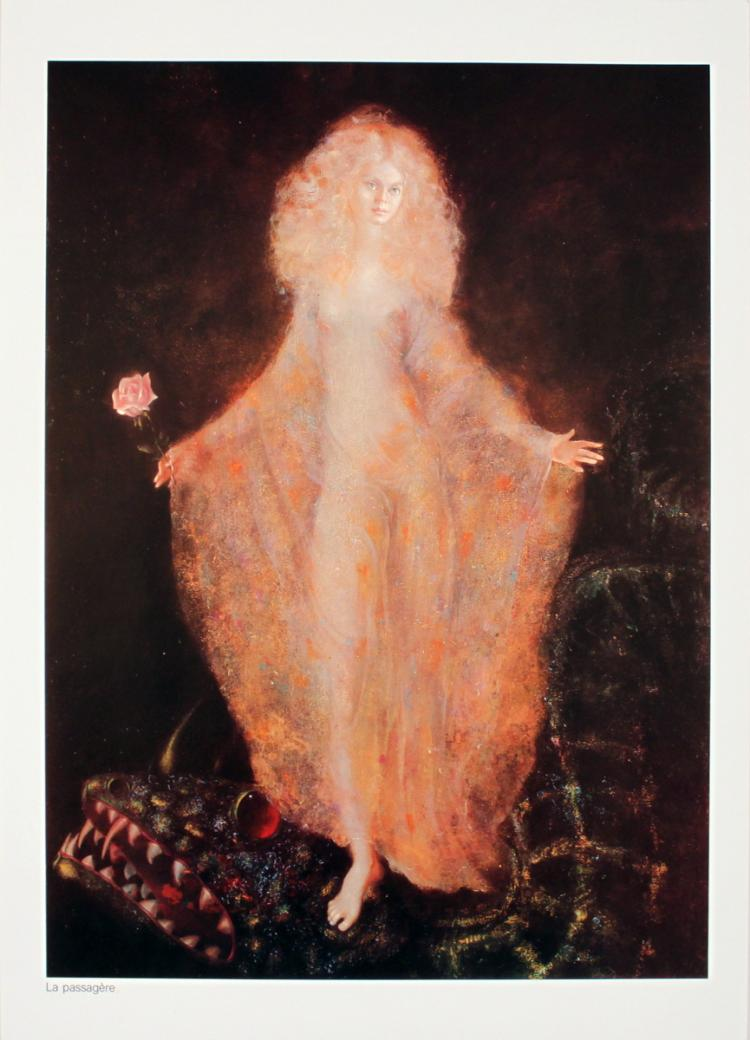 Leonor Fini - La Passagere