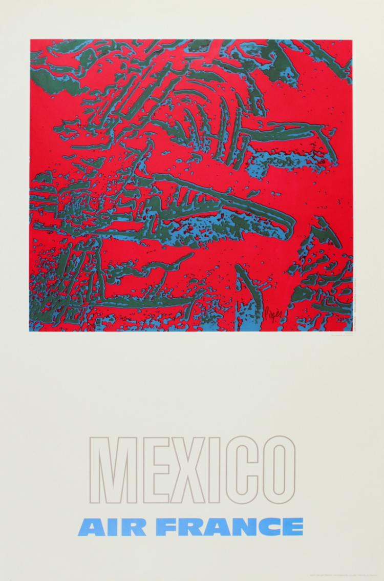 Raymond Pages - Air France: Mexico - 1971