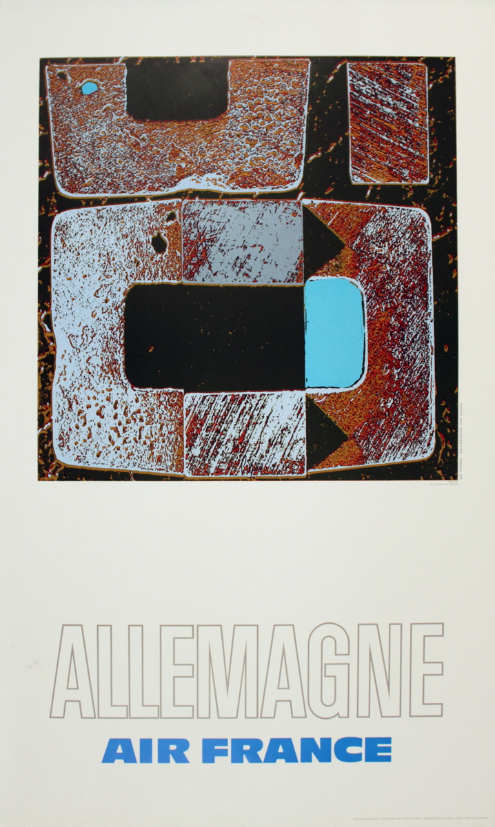 Raymond Pages - Air France: Allemagne - 1971