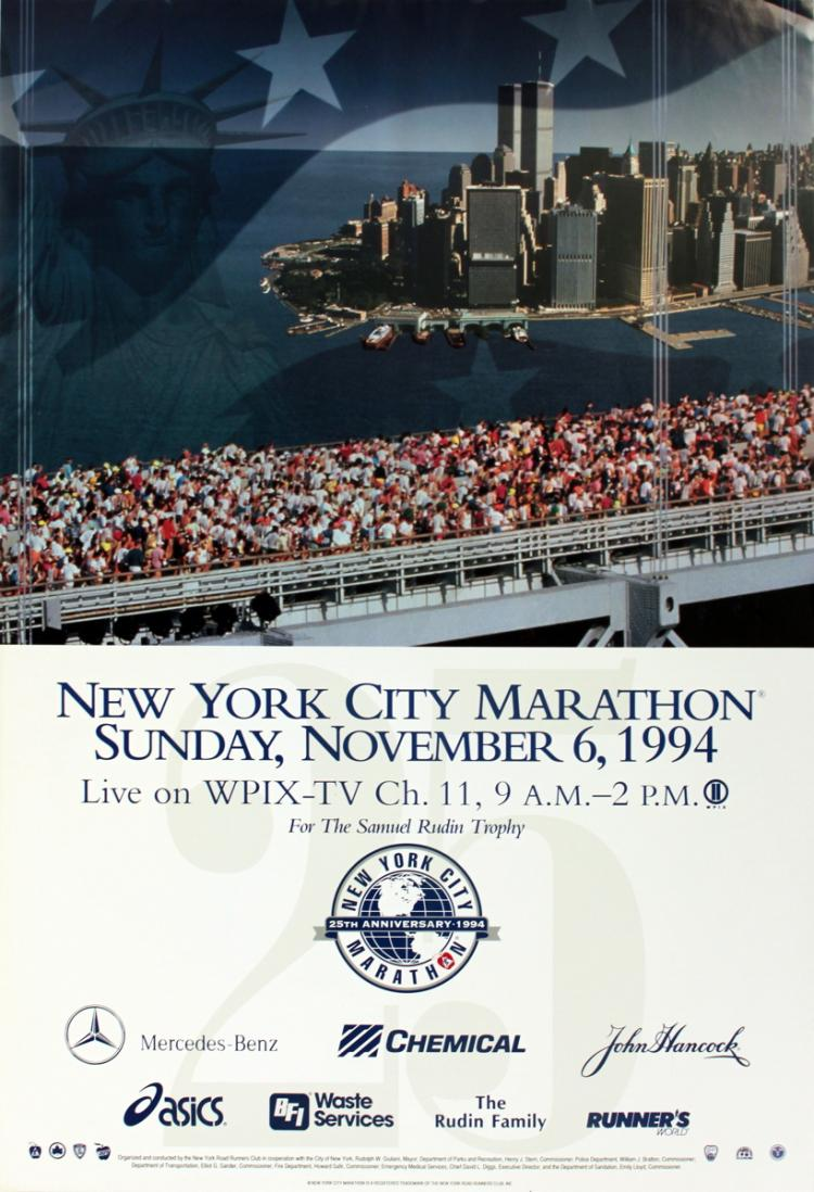 New York City Marathon - 1994