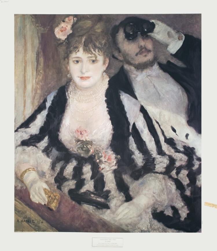 Pierre-Auguste Renoir - La Loge - 1965