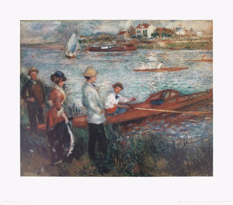 Pierre-Auguste Renoir - Oarsmen at Chatou