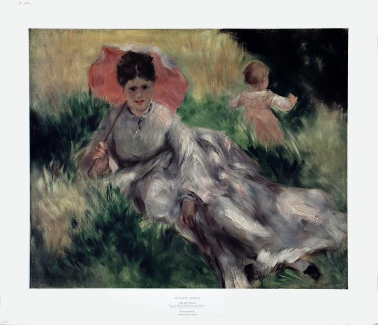 Pierre-Auguste Renoir - Lady with a Parasol