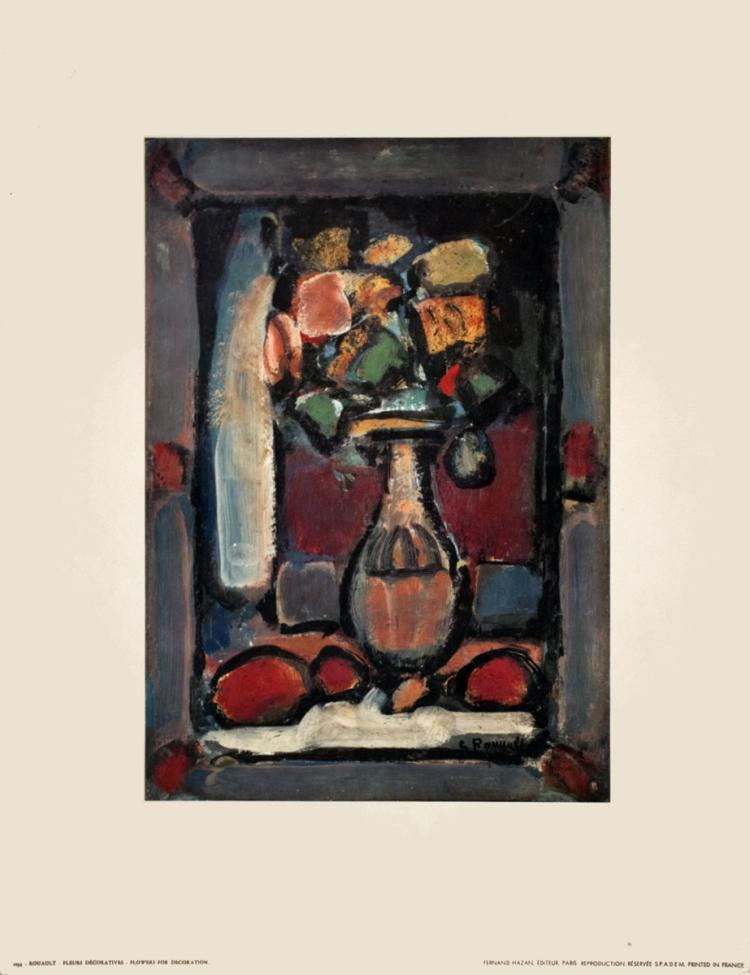 Georges Rouault - Flowers for Decoration