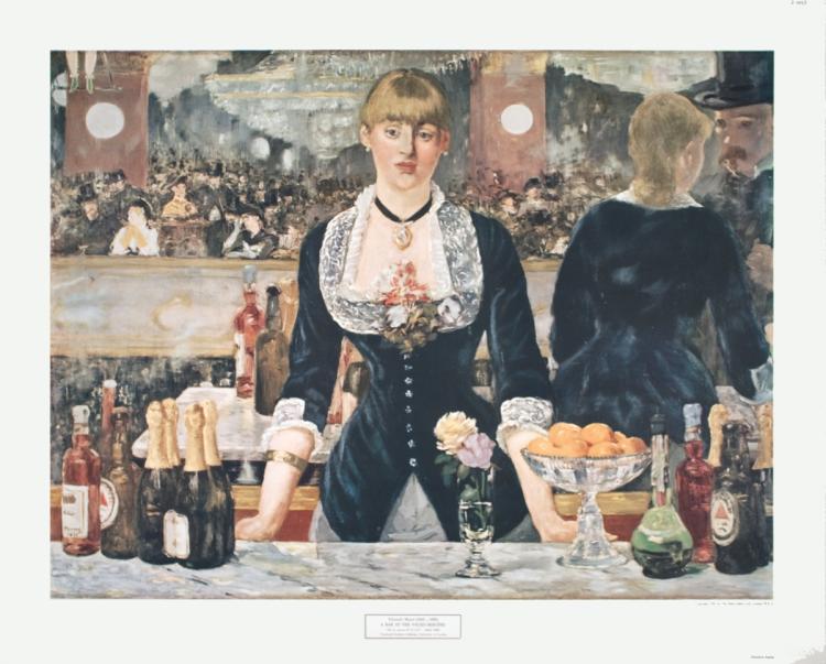 Edouard Manet - A Bar at the Folies-Bergere