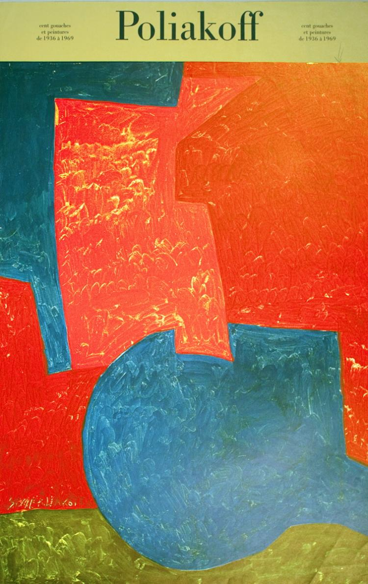 Serge Poliakoff - One Hundred Gouaches and Peintures