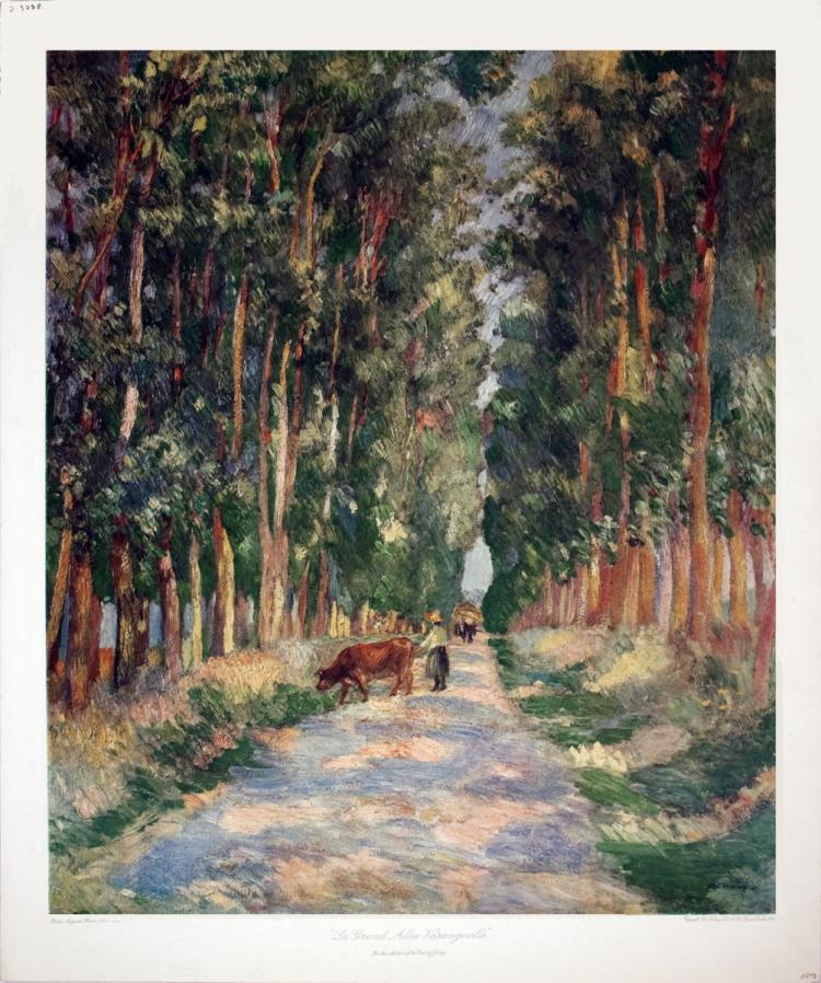 Pierre-Auguste Renoir - La Grand Allee Varangeville