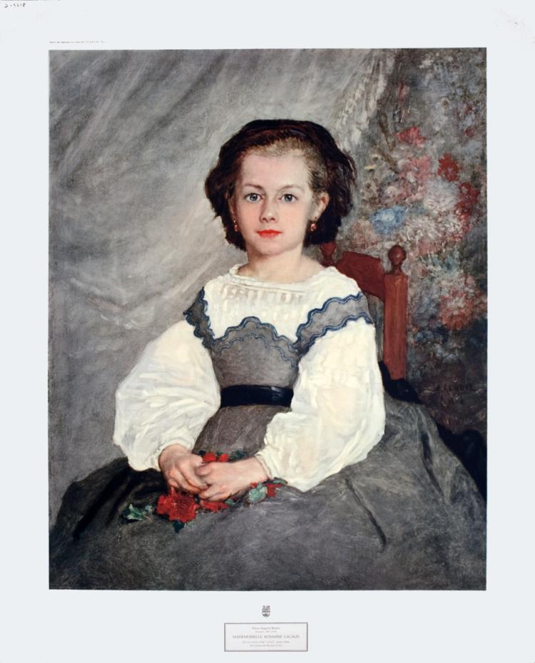 Pierre-Auguste Renoir - Mademoiselle Romain Lacaux