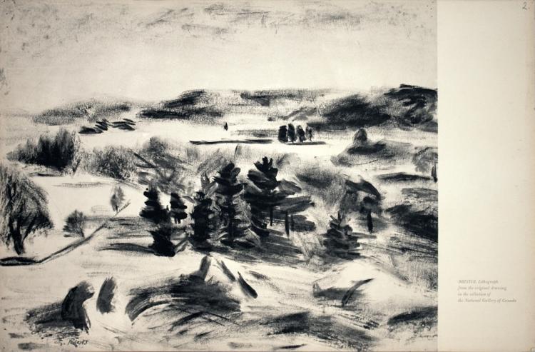 Goodridge Roberts - Gatineau Landscape - 1957