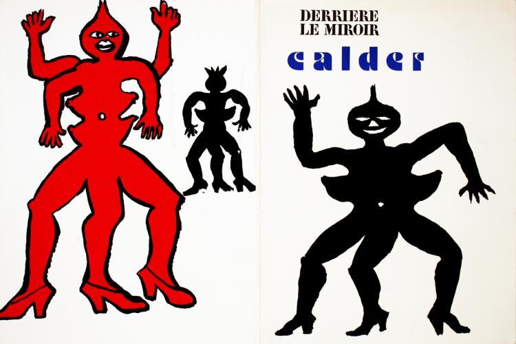 Alexander Calder - DLM No. 212 Cover - 1975