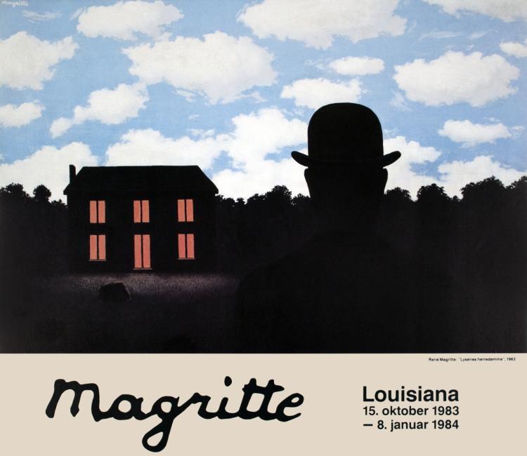 Rene Magritte - Lysenes Herredomme - 1983