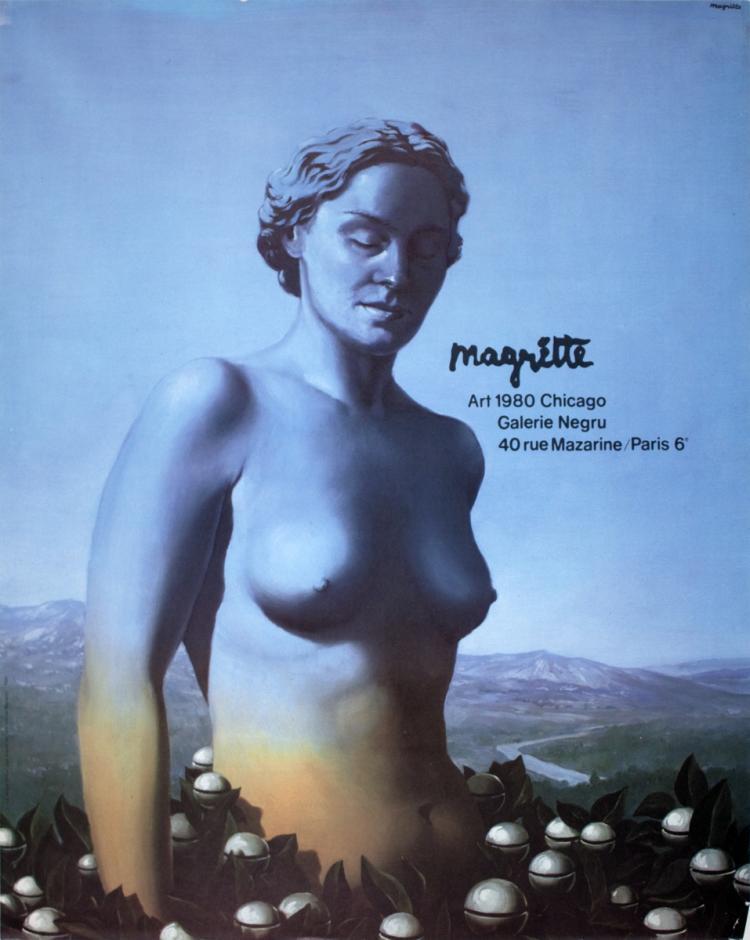 Rene Magritte - Art Chicago, Galerie Negru - 1980